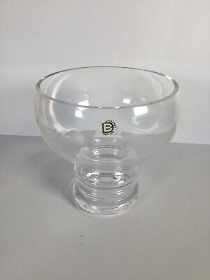 Dartington Crystal Footed Bowl • 9.99£