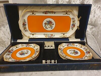 Swinnertons Rare  Vintage 1930's * Boxed Plate Set * Maybe Hampton Collection?  • 89£