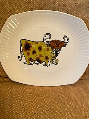 Vintage Beefeater Bull Steak And Grill English Ironstone Pottery Ltd Plate 3 • 5.99£