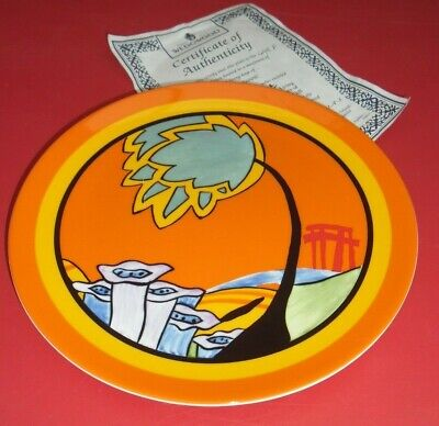 Wedgwood Clarice Cliff Bizarre Monsoon Plate Limited Edition • 9.99£