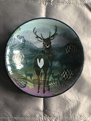 The Tain Pottery Monarch Of The Glen Stag  Dish • 18.99£