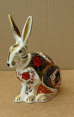 Crown Derby Old Imari Limited Edition 500  Hare  C2013 1st Quality Perfect • 270£