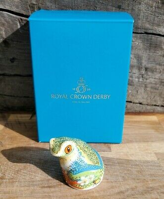 Royal Crown Derby 'TREE FROG' Paperweight. 2018 Guild Piece. Excellent Condition • 89£
