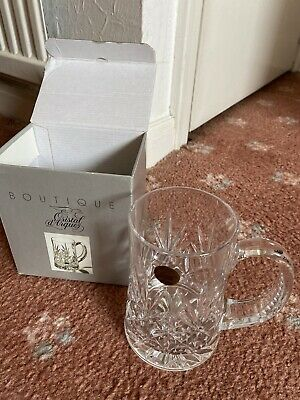 Boutique  Crystal Tankard 56cl • 3£