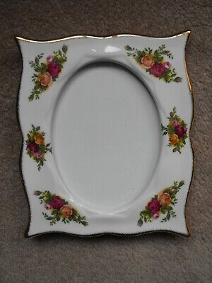 Royal Albert Old Country Roses Design Picture Frame • 18£