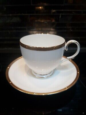 Noritake Rochelle Gold Tea Cup And Saucer • 20£