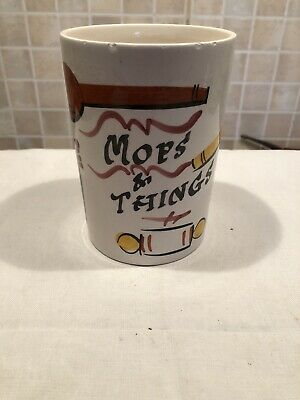 Tom Raymond Vintage 'Mops And Things' Container • 2.90£