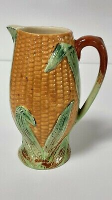 Vintage Shorter And Son Hand Painted Corn On The Cob Jug • 25£