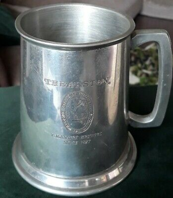 Theakston  English Pewter Tankard • 10£