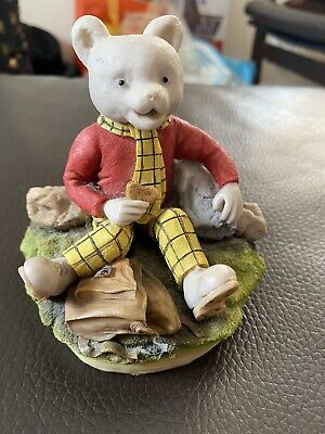 RARE Arden Sculptures RUPERT BEAR  Figure - R003 Ltd Edition • 50£