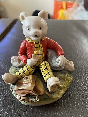 RARE Arden Sculptures RUPERT BEAR Figure - R003  REPAIRED • 35£