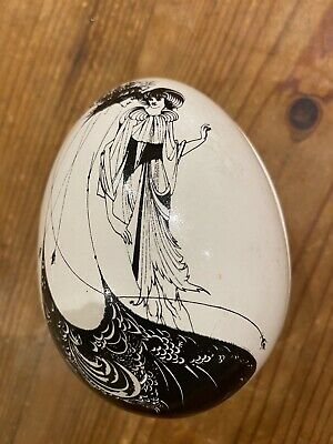 The Beardsley Collection Poole Poottery Egg Shapes Trinket Dish • 18£