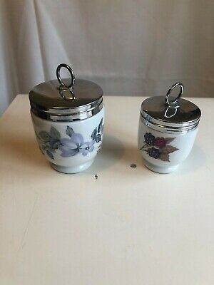 Pair Of Royal Worcester Egg Coddlers • 4.99£
