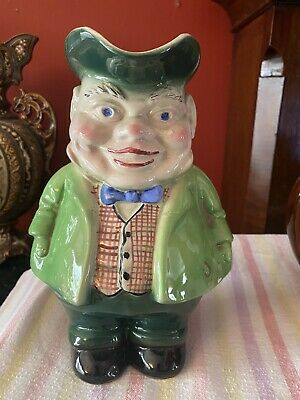 Novelty Staffordshire Character Toby Jug - Unusual • 10£