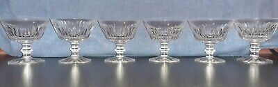 Vintage Waterford Crystal Champagne/cocktail Saucers/glasses X6  • 24.60£