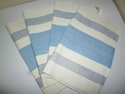 Bhs-British Home Stores Set Of 100% Cotton Place Mates • 12.99£