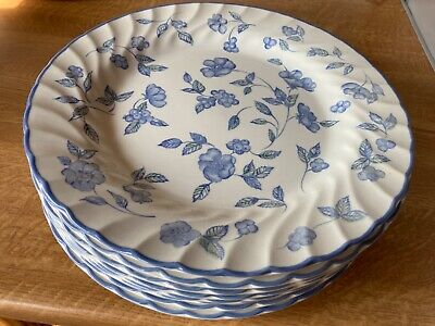 Bhs Bristol Blue Crockery (discontinued) 41 Pieces Used But Good Condition • 110£