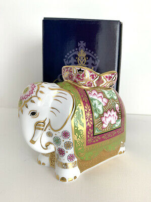Royal Crown Derby Limited Edition Rani (Indian Elephant Mother) Paperweight  • 123.95£