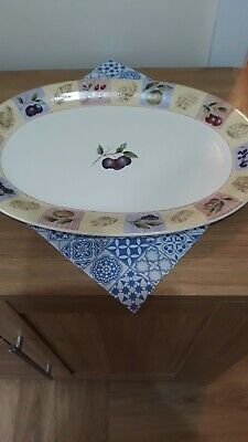 Marks & Spencer Wild Fruits Large Oval Platter 41 Cms X 28 - Great Condition! • 4.99£