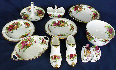 Royal Albert OLD COUNTRY ROSES Mixed Lot • 34£