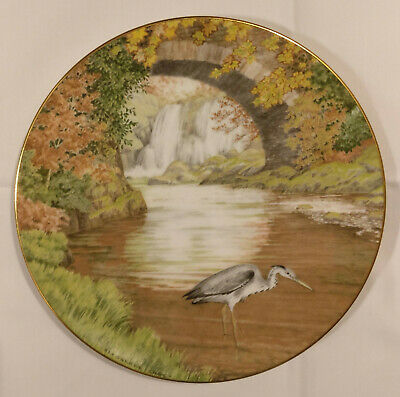 **Royal Doulton Waterside The Heron Picture Plate** Excellent Condition** • 5.50£