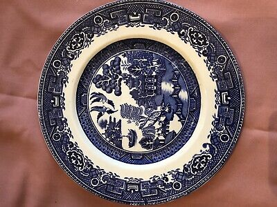 Alfred Meakin Plate Old Willow • 4£