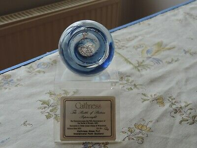 Caithness Paperweight Limited Edition  The Battle Of Britain  With Stand & Box  • 10.99£