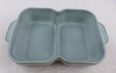Denby Regency Green Divided Serving Dish With Handles • 26.50£