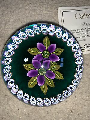 Caithness Paperweight Primroses • 41£