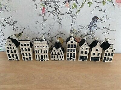 8 X KLM BOLS COLLECTABLE HOUSES - NO CONTENTS - FREE UK P+P • 75£