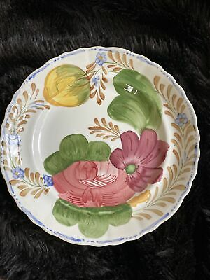 """BELLE FIORE Floral Chanticleer By Simpsons Potters Ltd Side Plate 521 9"""" Vintage • 3£"""
