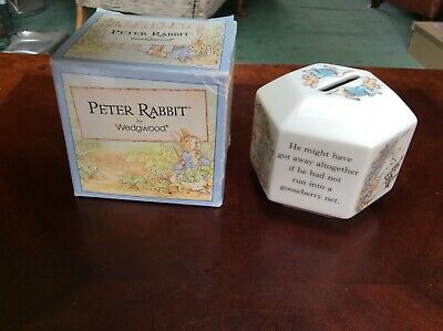Wedgewood Peter Rabbit Money Box • 5£