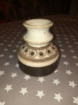Jersey Pottery Short Candlestick Holder • 2£