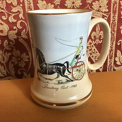 J Fryer Of Tunstall ' Breaking Cart 1895 ' Tankard - In Excellent Condition  • 5.99£