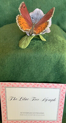 Franklin Mint Butterflies Of Paradise - Lilac Tree Nymph • 5.50£