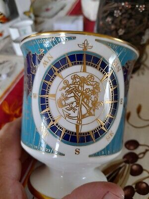 Rare Coalport Longitude Zero Greenwich Commemorative Large Mug 1884 • 5£