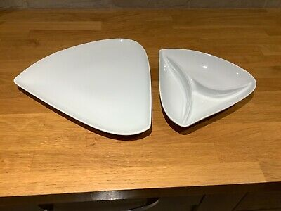 Denby White Serving Dishes (2)  • 5£