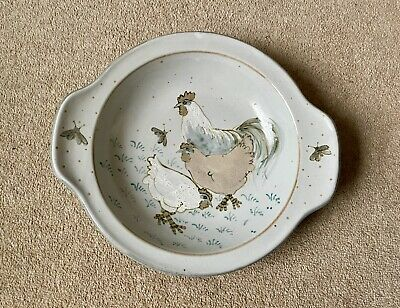 Large Highland Stoneware Serving Dish 33 Cm At Widest - Chookies • 35£