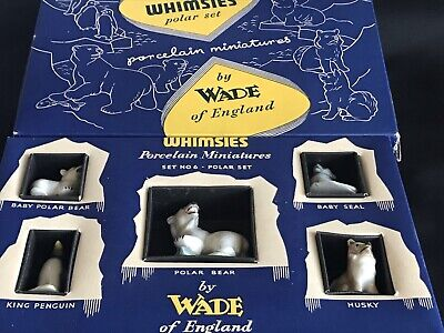 Box Of Five NEW Whimsies Made By Wade • 4.30£