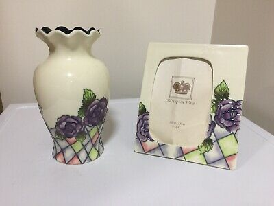 Old Tupton Ware Vase And Photo Frame • 5£