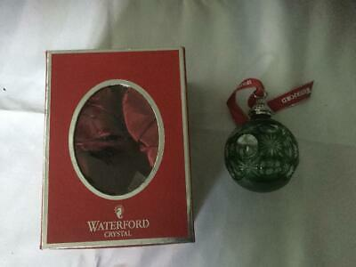Waterford Christmas Bauble • 75£