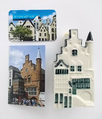 KLM Bols 101 Delft Sealed/ Empty House + Picture /info Card + Houses Score  Card • 59.99£