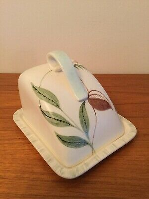 Radford Hand Painted Butter Dish • 7£