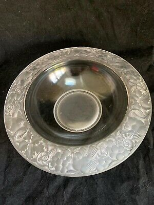 Antiques French Art Deco Opalescent Glass Bowl  Pierre D'Avesn C.1930's • 175£