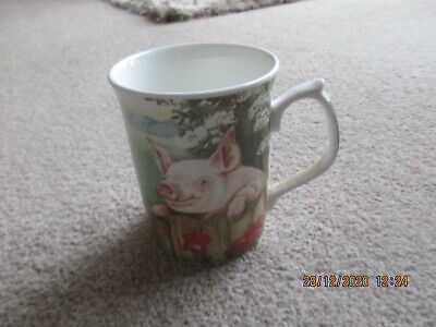 Fenton Pig  Mug By Ann Blockley • 5£