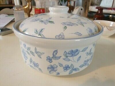 BHS Lidded Casserole Dish 1 Of 2. Bristol Blue. Pre-owned But Never Used. • 15£