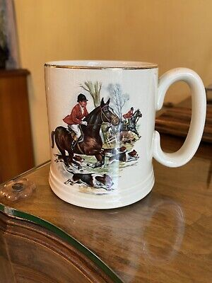 Vintage Lord Nelson Pottery Hunting Scene Mug  • 3.50£