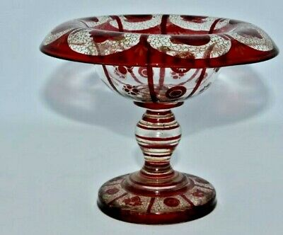 Victorian Glass Sweet Meat Dish  • 15£