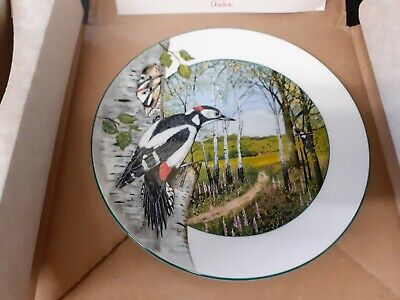 ROYAL DOULTON COLLECTORS PLATE -  The Woodland Woodpecker  • 9.95£