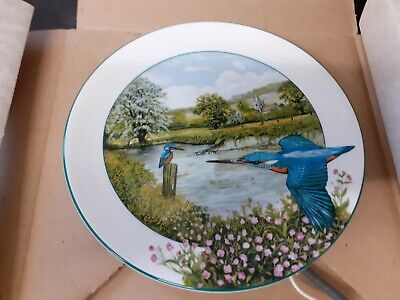 ROYAL DOULTON COLLECTORS PLATE -  The Riverside Kingfisher  • 9.95£